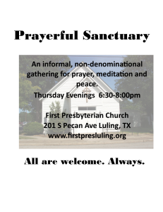 Prayerful Sanctuary flyer - Copy