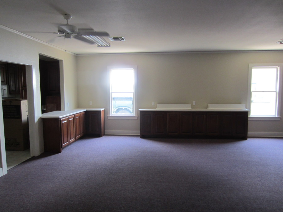 """An """"after"""" picture of our Fellowship Hall."""