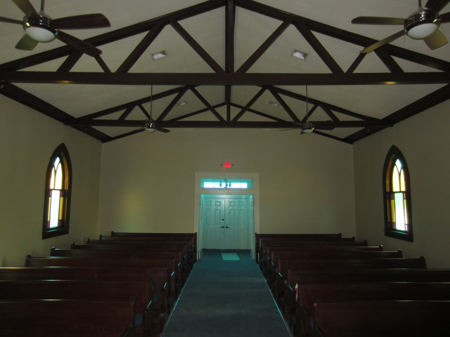 The Sanctuary newly restored.